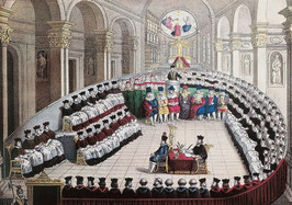 Started in 1545, the Council of Trent lasted eighteen years. It laid the foundations for the Classical Church, splitting from the Medieval Church.