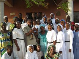 La communauté du Nigéria date de 1970. Elle est la plus jeune des communautés des soeurs Augustines de la Miséricorde.
