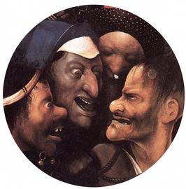 (Hiëronymus Bosch - de kruisdraging)