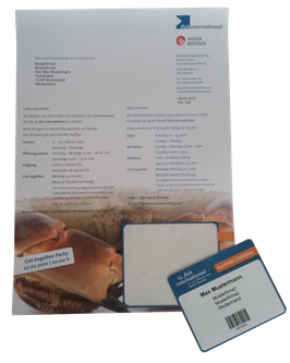 Integrierte Karten Ausweise bedruckte Ausweise Formulare A4 Kundenkarten Mitgliedsausweise Versicherungskarten Zutritt herauslösbare Karten
