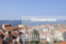 Piran Portoroz Slowenien