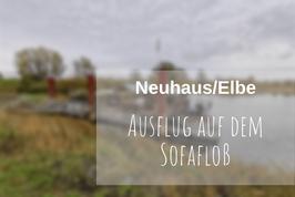 Floss fahren Elbe