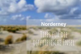 Norderney Tipps