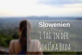 Goriska Brda Slowenien
