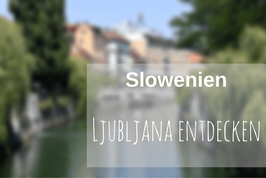Ljubljana Städtereise Highlights