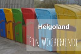 Ausflug Helgoland