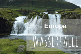 Wasserfall Europa Highlights