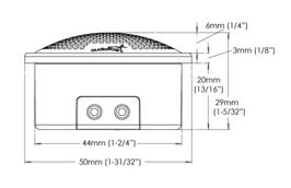 Skizze Maße Audiofrog Lautsprecher GS10