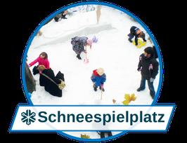 Passender Schnee für jeden Einsatz: Schneespielplatz