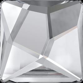 Swarovski 2420 Asymetric Square 001 Crystal Hotfix