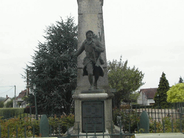 Monument aux morts de Cérilly (Allier)