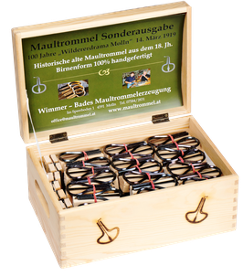SPECIAL EDITION Jaw Harp jew´s harp directly from manufacturer Austria www.maultrommel.at