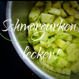 Schmorgurken-Rezept!