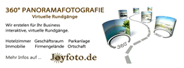 360 Grad Fotografie, virtuelle Tour