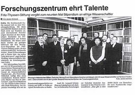 Herzog-Ernst-Stipendiaten 2012 Gotha Forschungszentrum Sven Pabstmann Martin Mulsow Lionel Laborie Knut Kreuch