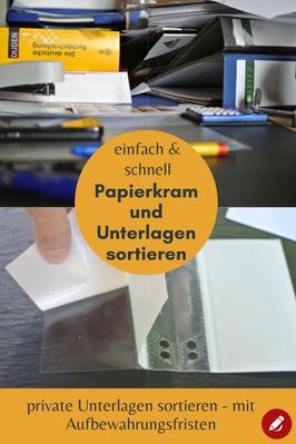 Private Unterlagen sortieren #ordnung #sortieren