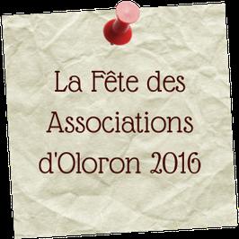 la fête des associations d'Oloron 2016 - blog marie fananas écrivain