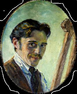 Werkverzeichnis N° 2171 - Erwin Bowien, jugendliches Selbstbildnis, 20er Jahre