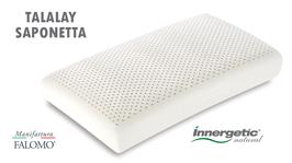 cuscino lattice innergetic natural lattice talalay lattice naturale 100% saponetta manifattura falomo
