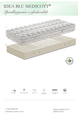 lattice materassi ferrara manifattura falomo sfoderabile anallergico ipoallergenico