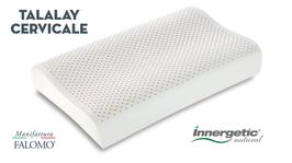 cuscino lattice innergetic natural lattice talalay lattice naturale 100% cervicale manifattura falomo