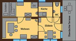 Grundriss Waldblick