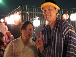 井上寛基さん(右)と加藤温子さん