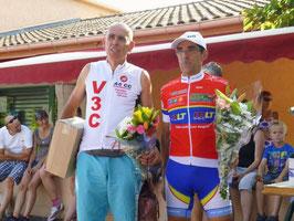 Avec Albert Moya vainqueur en 2ème caté.