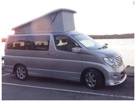 Nissan E52 campervan roof