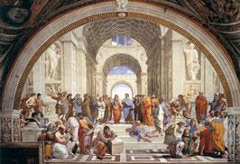 ラッファエロ作『アテネの学堂』