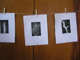 L'atelier de fabrication des gravures d'enfants