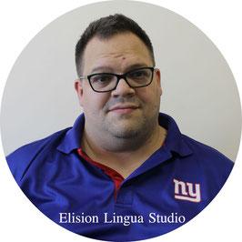 Edwin репетитор носитель немецкого языка. Москва. Elision Lingua Studio. Немецкий с носителем индивидуально.