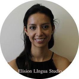 Andrea репетитор носитель испанского языка. Москва. Elision Lingua Studio. Испанский с носителем индивидуально.