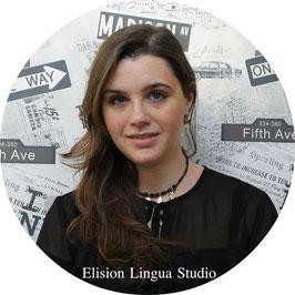 Alice репетитор носитель итальянского языка. Москва. Elision Lingua Studio. Итальянский с носителем индивидуально.