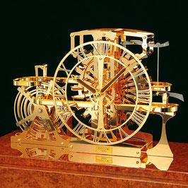 機械式置時計「AZ301F」(セイコークロックのサイトより)