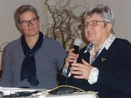 Petra Schulz und Anette Icken