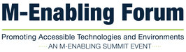 Logo M-Enabling Forum Europe