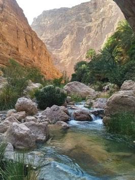 Wadi Shab, near Muscat, Oman