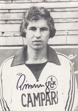 Seppl Pirrung, Spielzeit 1977/78 (Foto: Archiv Thomas Butz)