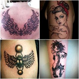 Tattoos: Bianca Stücker