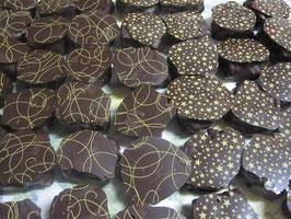 recette chocolat ganache enrobé chocolat noir