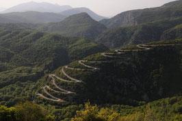 Road in Zagori region