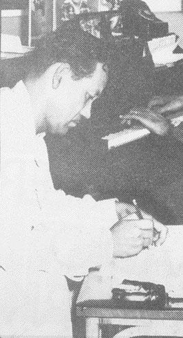 Moncho Usera en Puerto Rico años 40's.