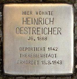 Stolperstein für Vater Heinrich in München
