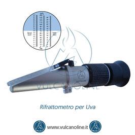 Rifrattometro Uva