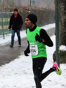 Wieder einmal konkurrenzlos: Yossief Tekle