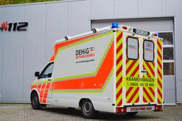Mietwagen für Patienten die sitzend befördert werden können.
