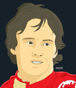 Gilles Villeneuve by Muneta & Cerracín