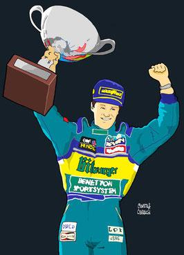Michael Schumacher by Muneta & Cerracin