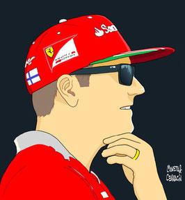 Kimi-Matias Räikkönen by Muneta & Cerracín